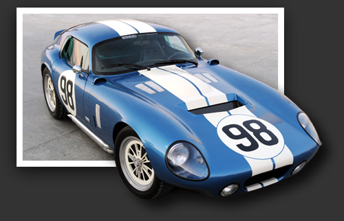 Picture Shelby Daytona Coupe Kit Completed