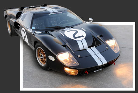 Picture GT40 Mark 2 Kit Completed