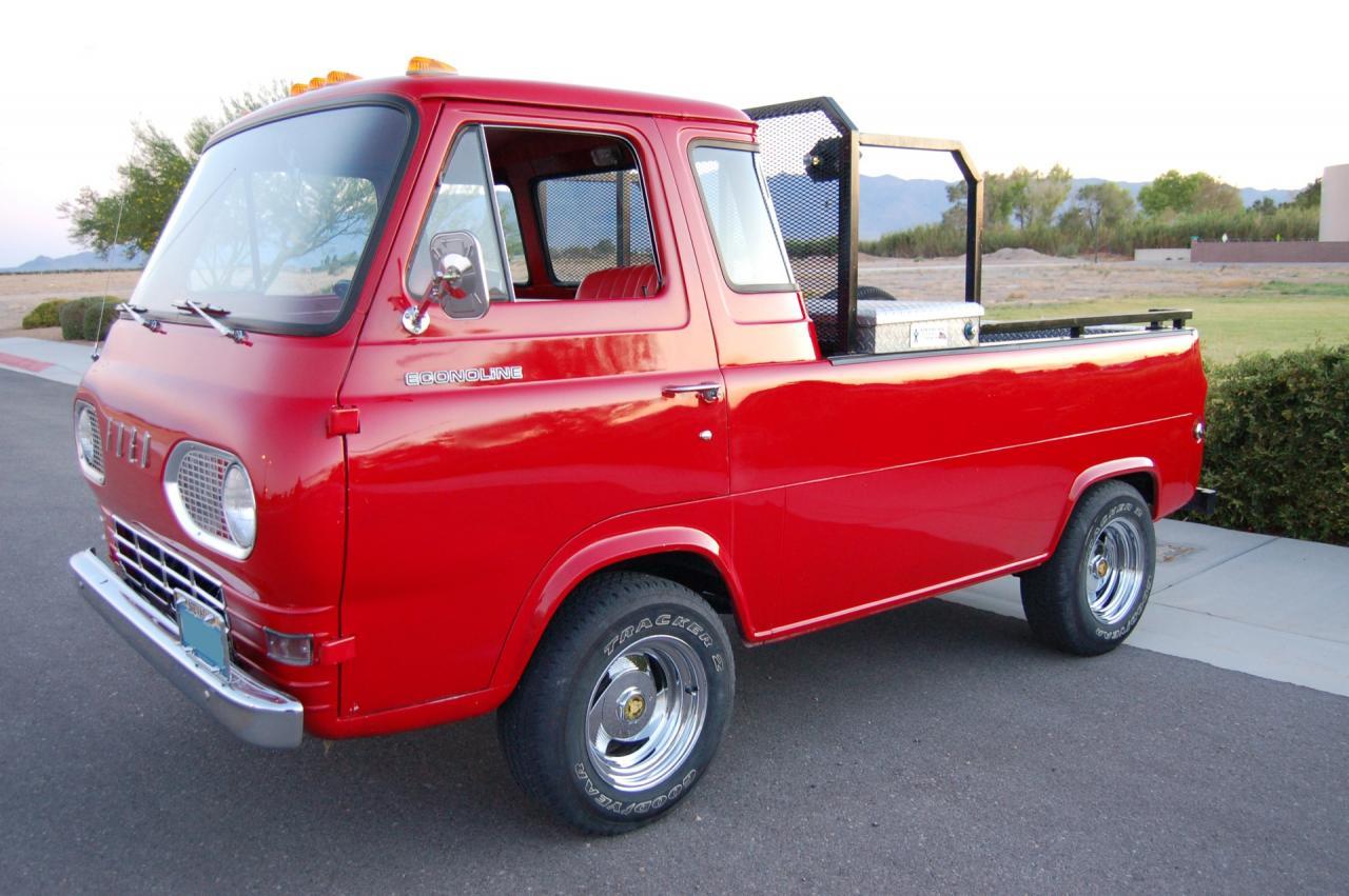 ford econoline 1961 1967 pickup for autos post. Black Bedroom Furniture Sets. Home Design Ideas