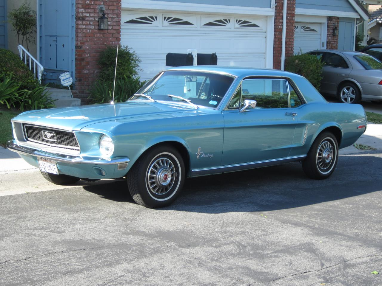 1968 Mustang Coupe In The Same Family Since New For Sale