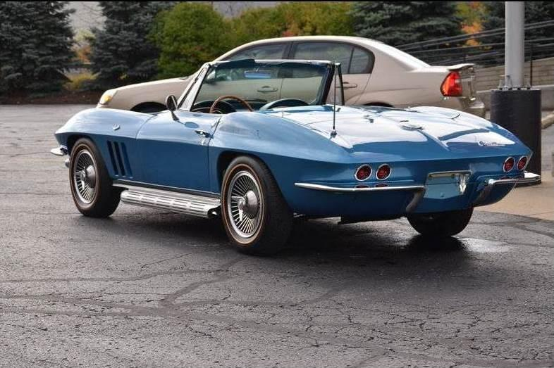 Awesome 1966 Corvette Convertible  327350  4 Speed For Sale
