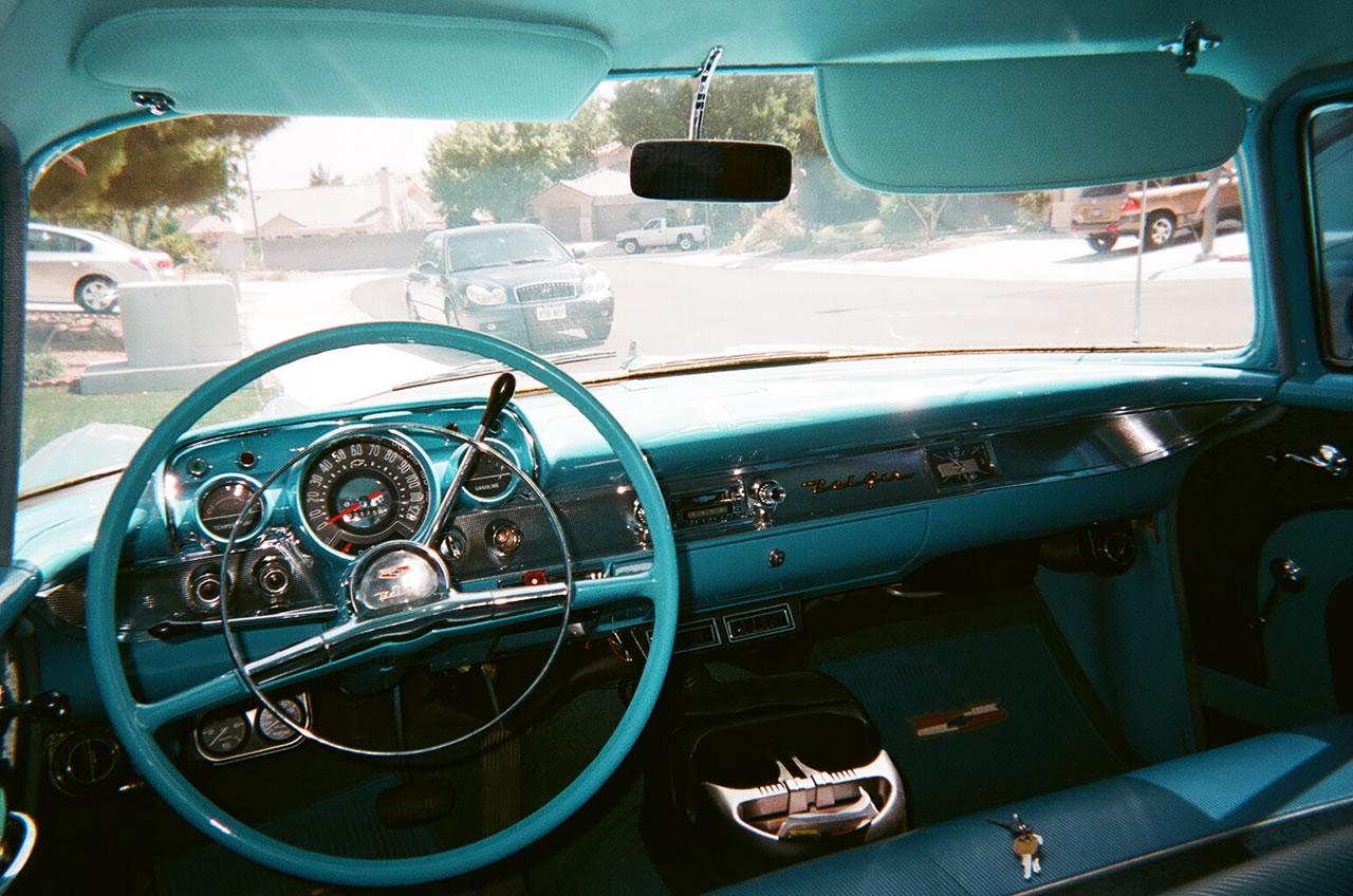 Chevy Interior Package Kit 4 Door Sedan Bel Air 1957 Autos Post