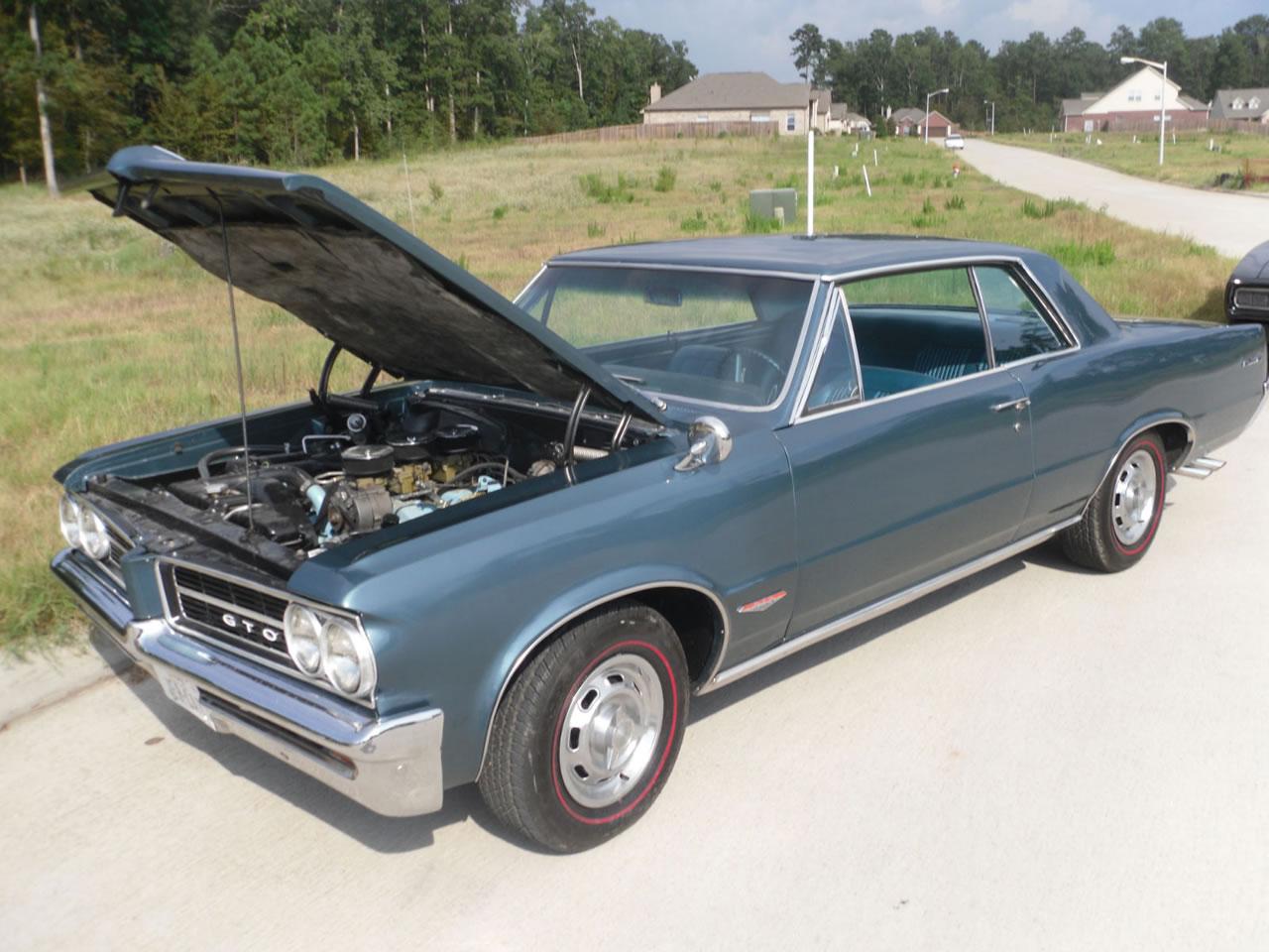 Car Inspection Houston >> 1964 GTO Pontiac Hardtop 389 Tri-Power For Sale